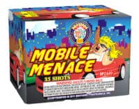 mobile menace - 35 Shots - 200 Gram Aerials - fierworks