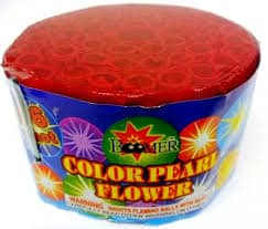 Color Pearl Flower - Color Pearls - 96 Shots - 200 Gram Aerials - Fireworks