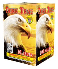 Think Twice - 16 Shots - 200 Gram Aerials - Fireworks