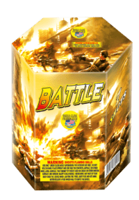 Battle - 7 Shots - 200 Gram Aerials - Fireworks
