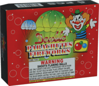 Double Day Parachutes - Parachutes - Fireworks
