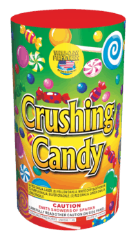 Crushing Candy - Fountains - Fireworks