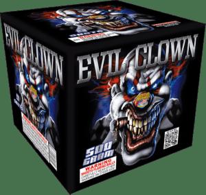 Evil Clown - 9 Shots - 500 Gram Aerials - Fireworks