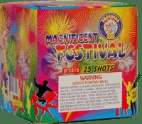 Magnificent Festival - 25 Shots - 200 Gram Aerials - Fireworks