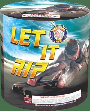 Let It Rip - 12 Shots - 200 Gram Aerials - Fireworks