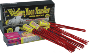 Whistling Moon Travelers With Report - Rockets - Bottle Rockets - Stick Rockets - Fireworks