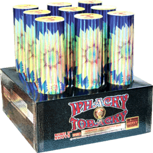 Whacky Tobacky - 500 Gram Aerials - 9 Rack - 3 Inch - Fireworks