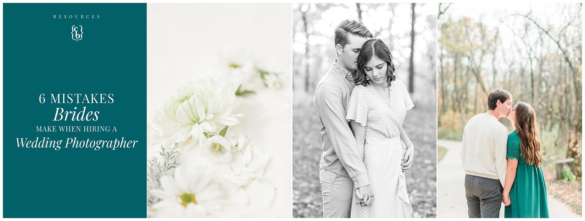 6 Mistakes Brides Make When Hiring A Wedding Photographer