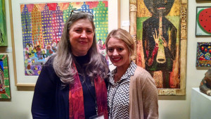 Marcia & Margen, gallery assistant