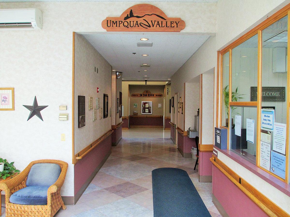 Umpqua Front Hall
