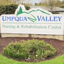 Umpqua Front Sign
