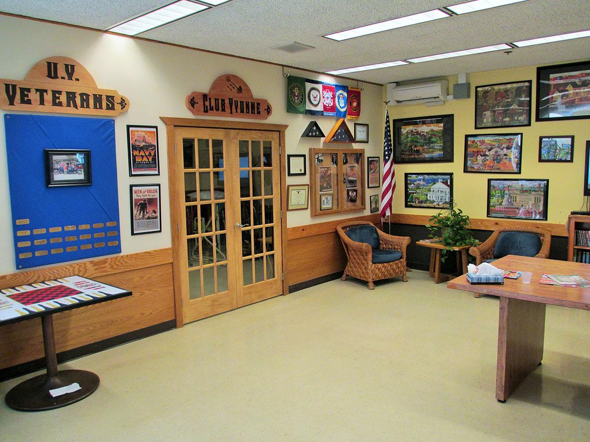 Umpqua Veteran Room