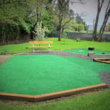 Umpqua putting green