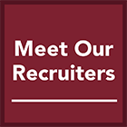 meet our recruiters
