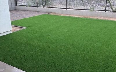 Artificial turf is a low maintenance alternative to natural grass – no mowers, no irrigation!