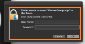 Window Group App Virus
