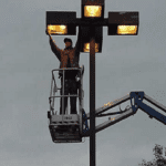 parking lot lighting services All City Electrical and Lighting
