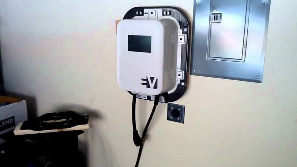 Electric Vehicle EV Home Charging Station Installation