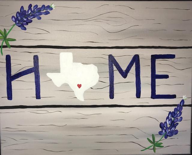 TEXAS HOME & BLUEBONNETS