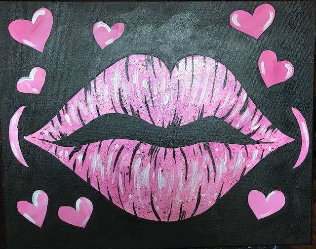 LOVE & KISSES - GLITTER