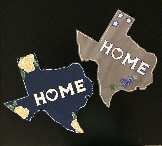 TX State wood cutout options