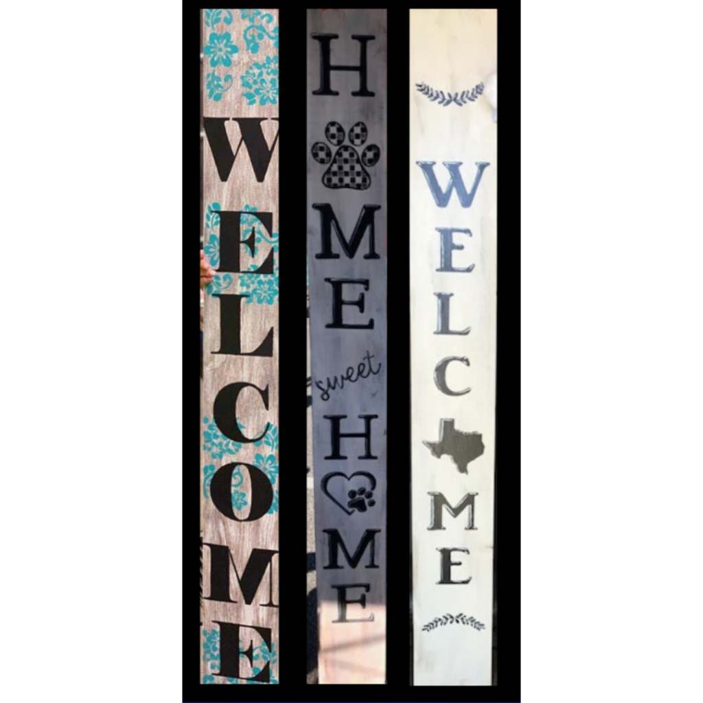 5ft Porch Signs