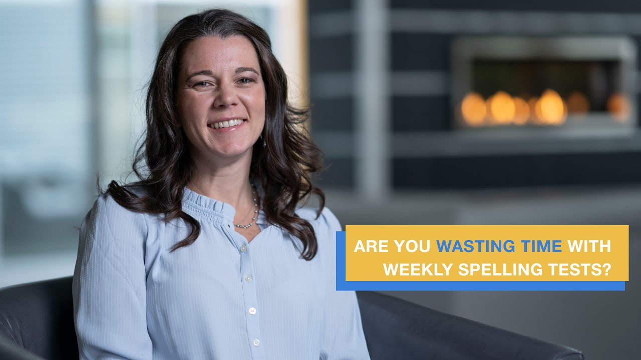 Stop wasting time with weekly spelling tests