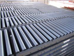 Used Gravity Flow Conveyors, used material handling equipment, used warehouse equipment, industrial surplus, used racking, ibc poly liquid tote tanks