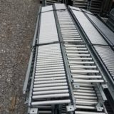 used pallet racking, pallet flow rack, span trac, span track, conveyor, gravity flow, louisville, kentucky, indiana