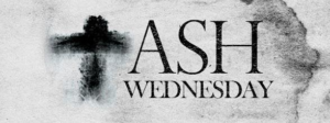 Ash Wednesday Service - Feb 26 at 6:30 PM @ Sanctuary