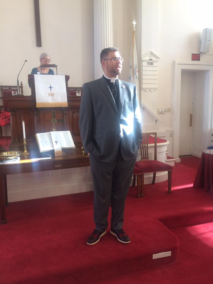 Reverend Dr Greg Gray is our new Pastor
