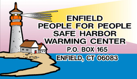 A generous donation to the Enfield Safe Harbor Warming Center