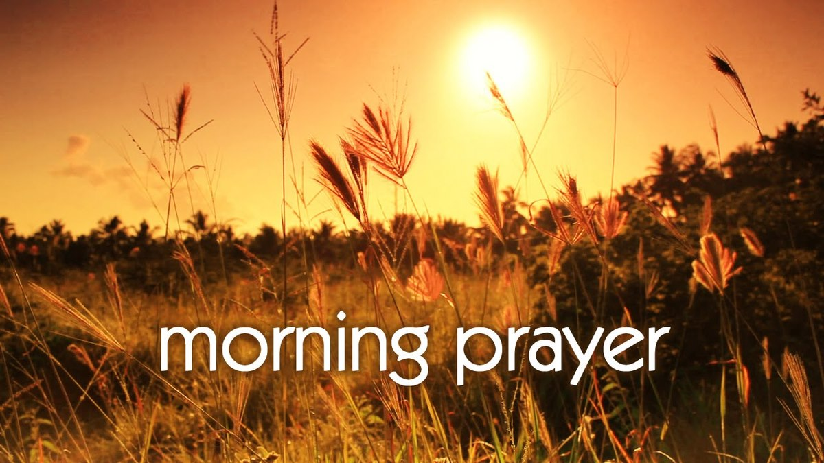 Morning Prayer Thurs 10:30 AM