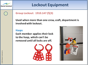 lockout procedure training