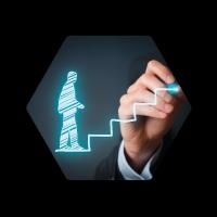 Management Hexagon Icon