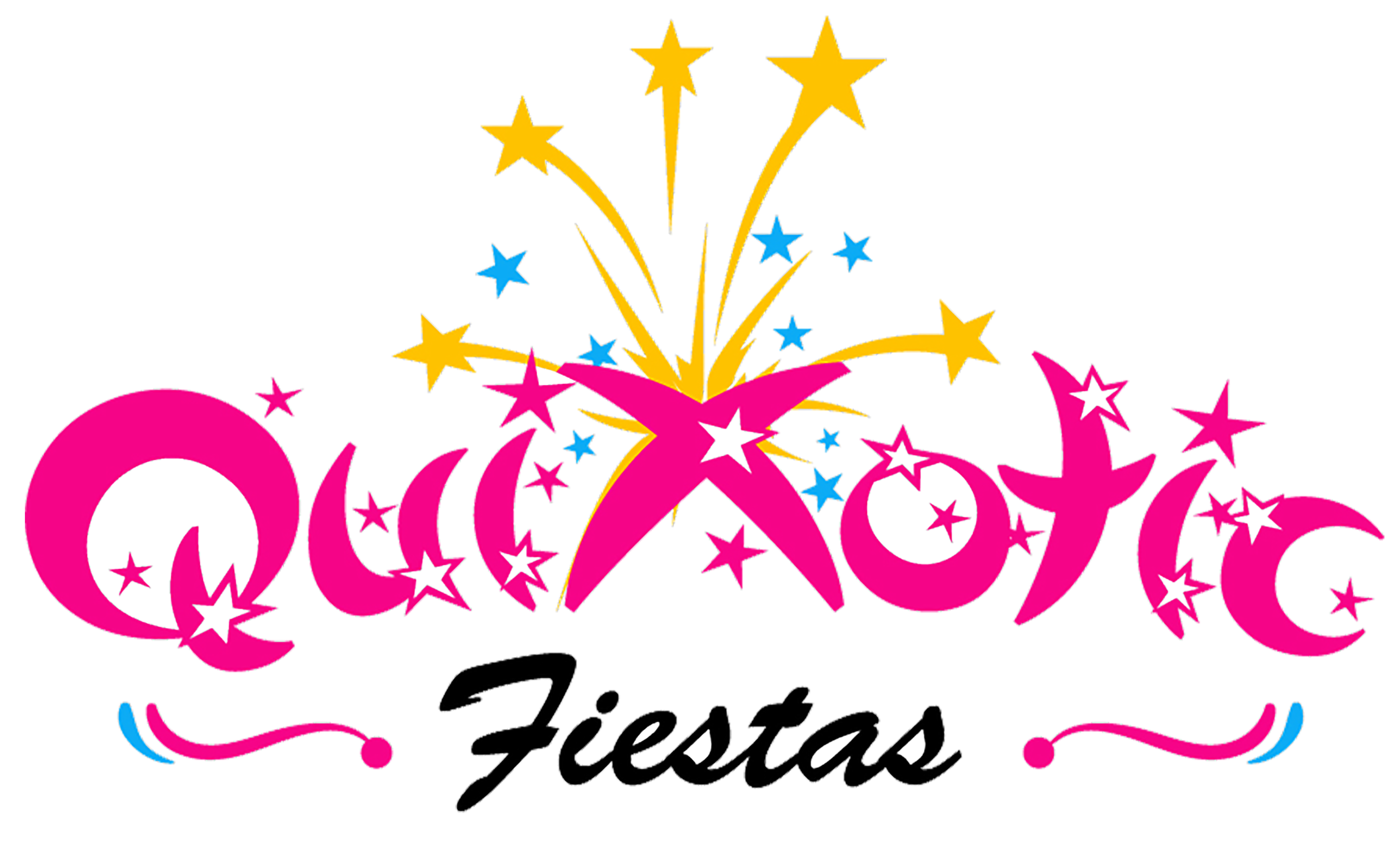 QuixoticFiestas logo with border