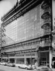 Hallidie Building San Francisco, first glass curtain wall building