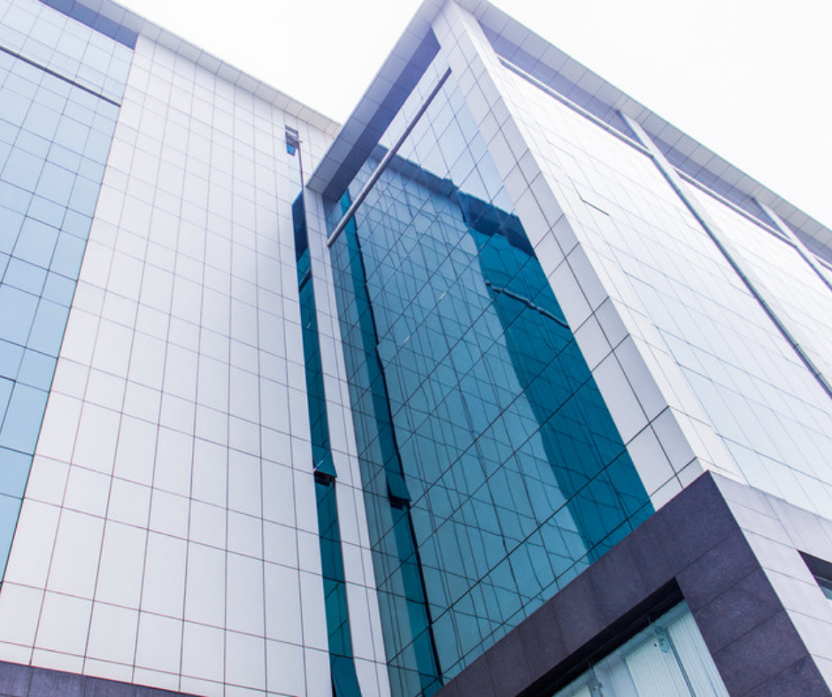 Glass Cladding Office Building