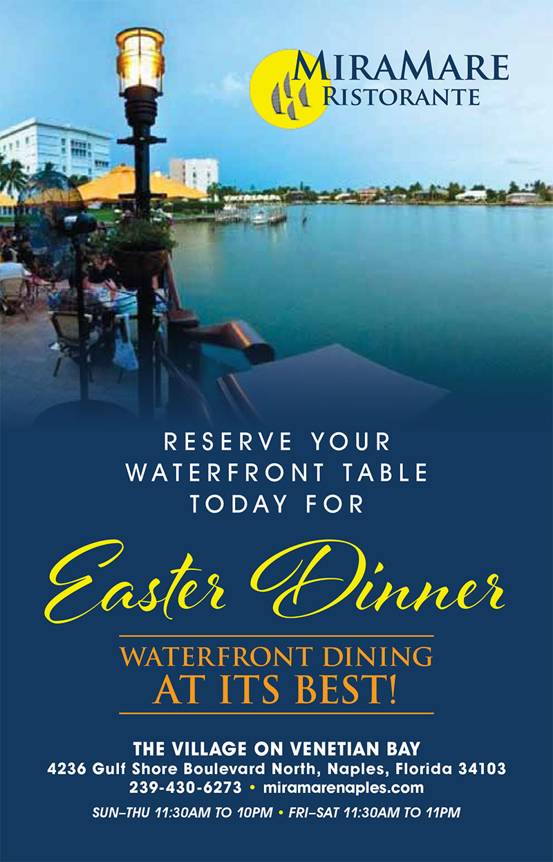 Reserve Your Waterfront Table Today For Easter Dinner