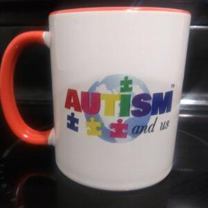 11oz Logo Print Coffee Mug