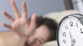 What's the most you ever hit the snooze button?