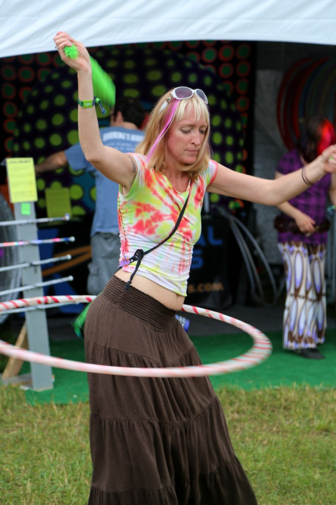 Electric Forest Seasoned Hula Hoop