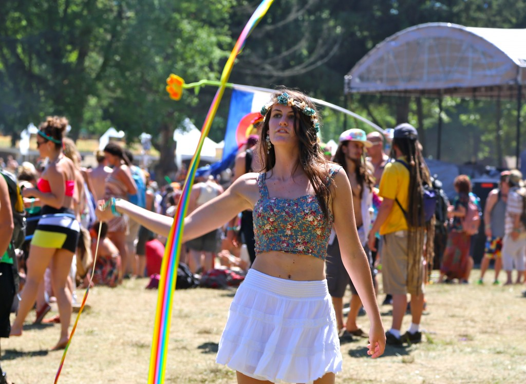 Electric Forest Ribbon Dancer