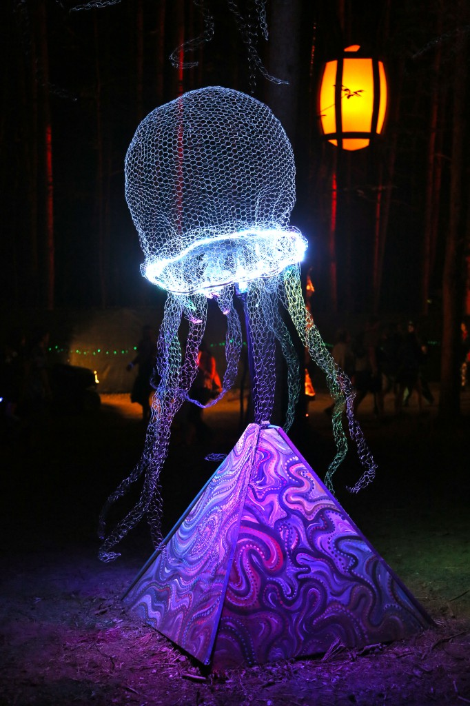 laser jelly fish