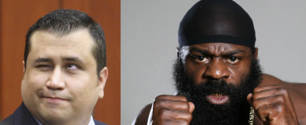 Who should box George Zimmerman in March?