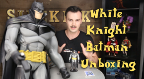 White Knight Batman Unboxing!