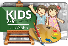 Kids 7-9 Art Classes