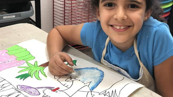 Homeschool drawing and painting classes