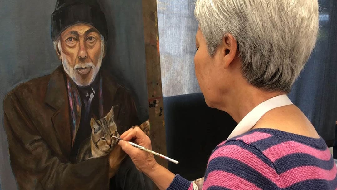 Drawing and painting classes for adults