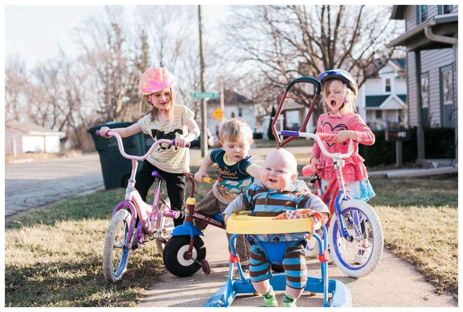four crazy kids